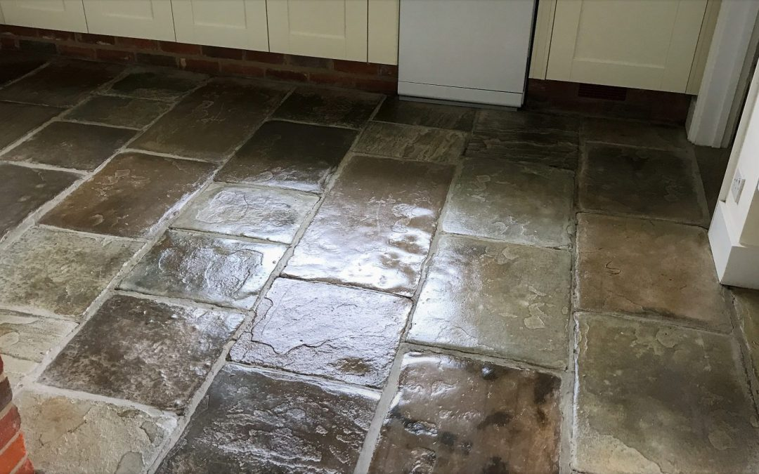 Natural stone floor cleaning & maintenance