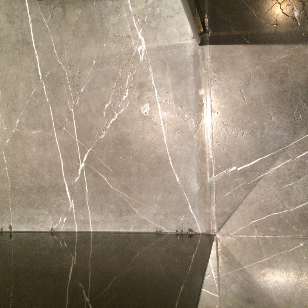 1.marble foor before