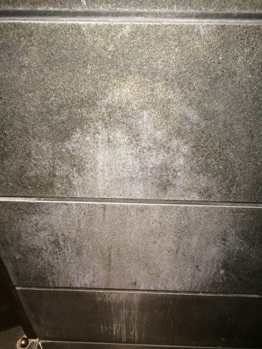 Textured Black Limestone Cleaning