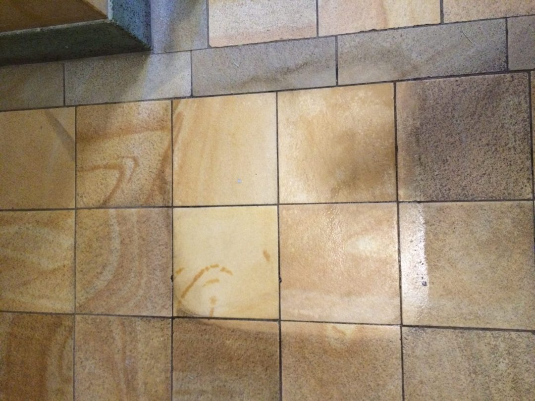 tile floor cleaning in essex and london before
