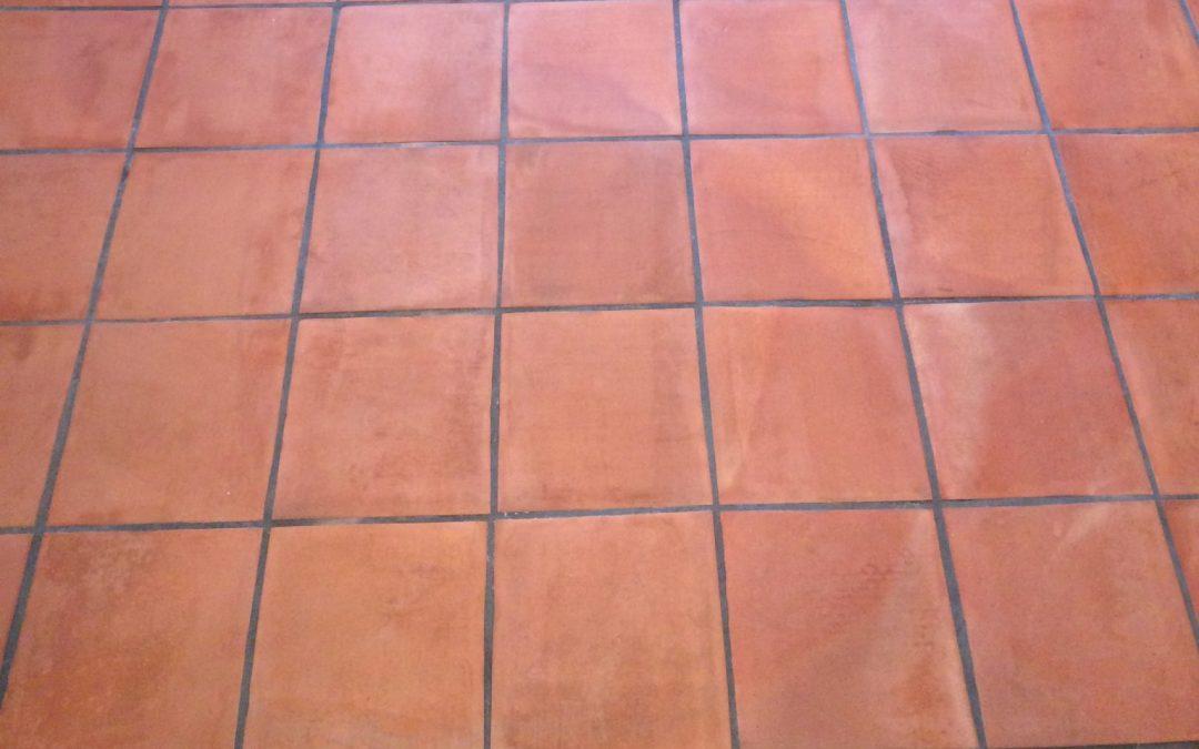 Terracotta Floor Cleaning