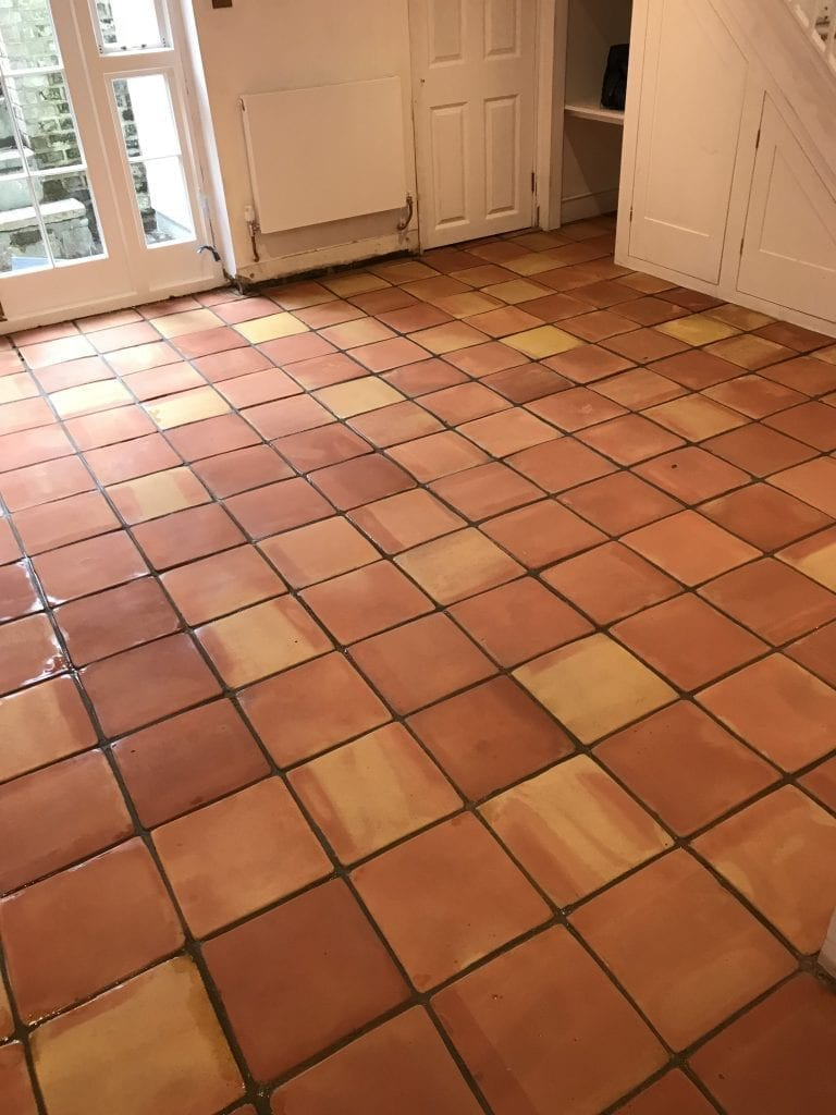 terracotta floor cleaning and restoration islington 4