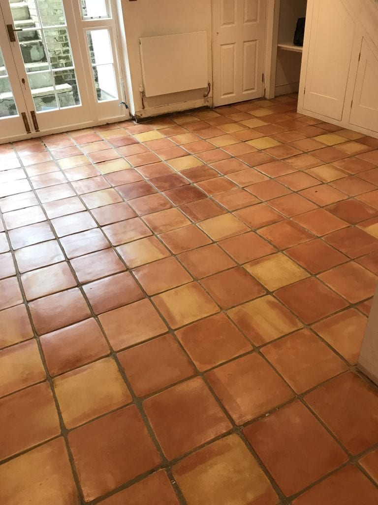 terracotta floor cleaning and restoration islington 6