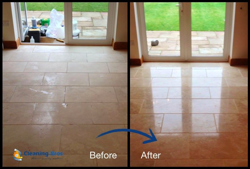 hard floor cleaning and restoration essex and london before and after 2