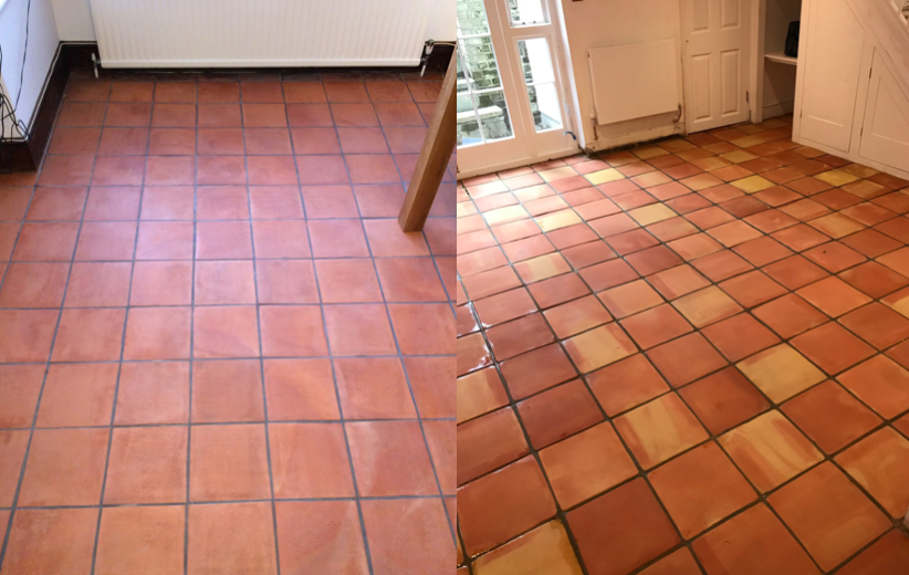 Terracotta Floor Cleaning in Essex & London