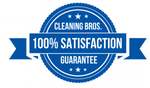 cleaning bros satisfaction guarantee